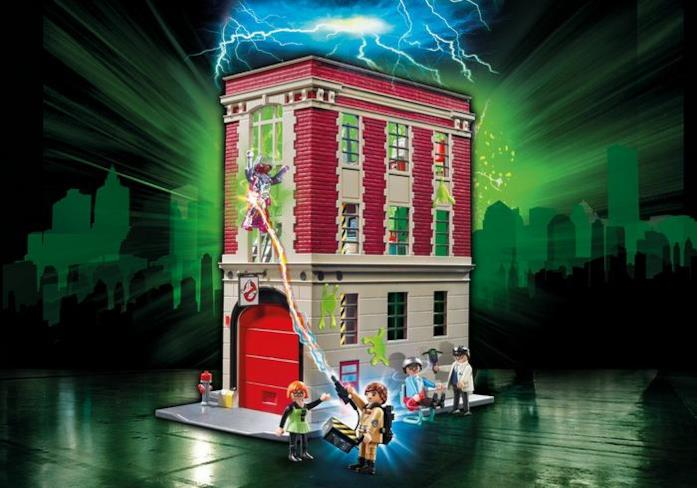 La Caserma dei Ghostbusters in versione Playmobil