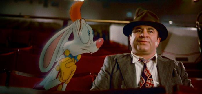 Chi ha incastrato Roger Rabbit unisce elementi reali e cartoni animati