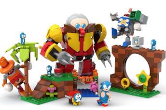 Sonic LEGO