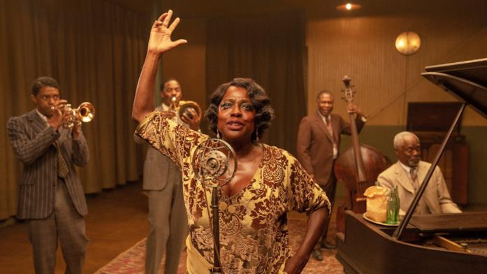 I protagonisti del film Ma Rainey's Black Bottom