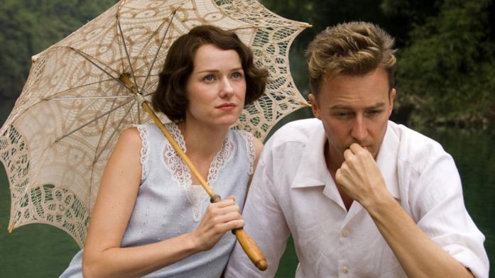 Naomi Watts e Edward Norton in Il velo dipinto