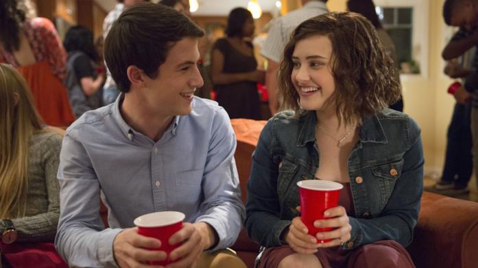 Clay e Hannah in una scena di Tredici