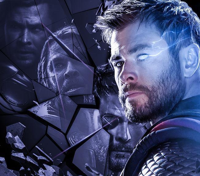 Poster di Avengers: Endgame dedicato a Thor