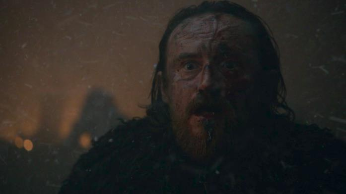 Edd muore in Game of Thrones 8
