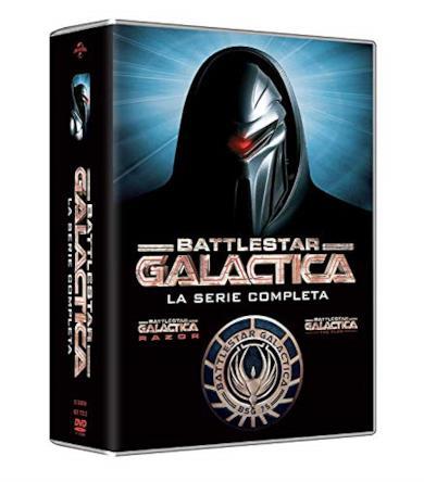 Cofanetto DVD di Battlestar Galactica - Stagioni 1-4