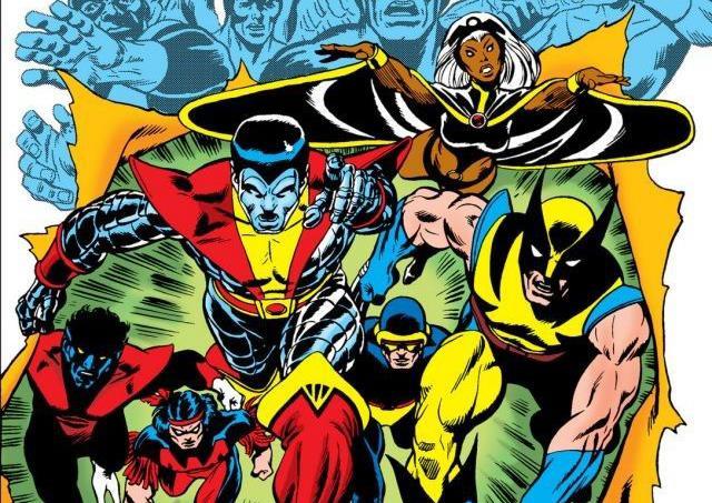 Dettaglio della cover di Giant-Size X-Men #1