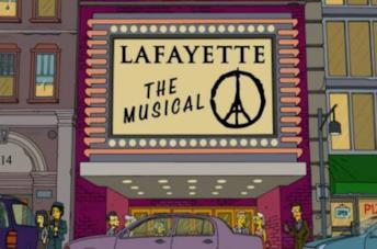 I Simpson e l'episodio con omaggio alle vittime di Parigi