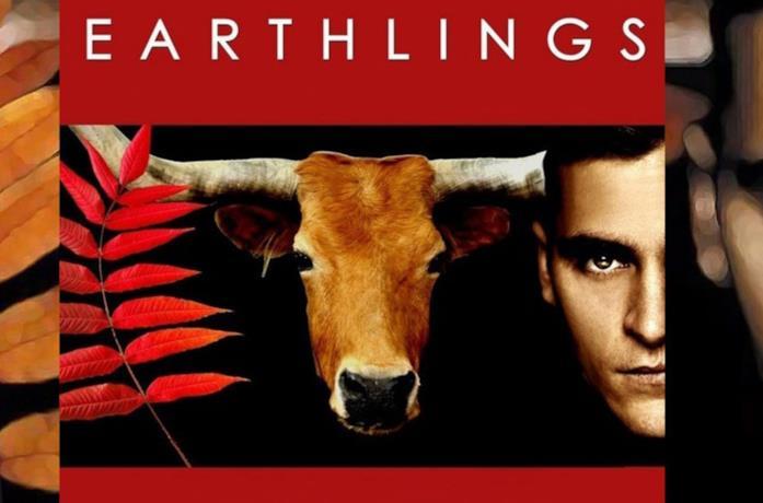 Joaquin Phoenix nella locandina di Earthlings