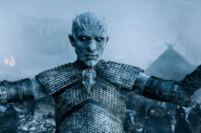 Vladimir Furdik in Game of Thrones nei panni del Re della Notte