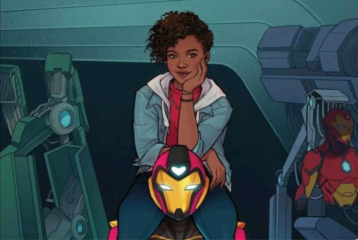Riri Williams nei fumetti