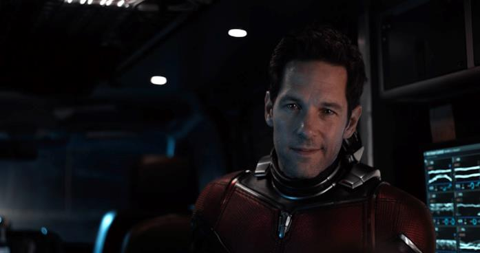 Paul Rudd nei panni di Ant-Man in Ant-Man and the Wasp
