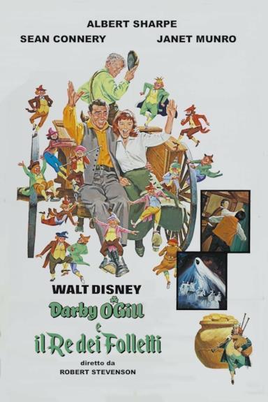 Poster Darby O'Gill e il re dei folletti