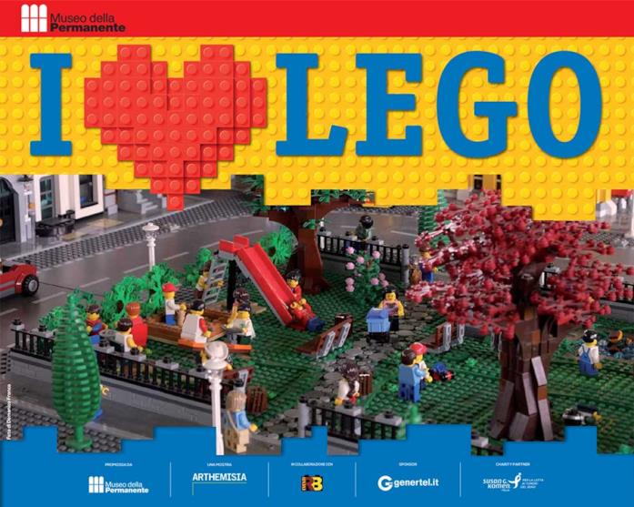 La mostra I love LEGO sbarca a Milano