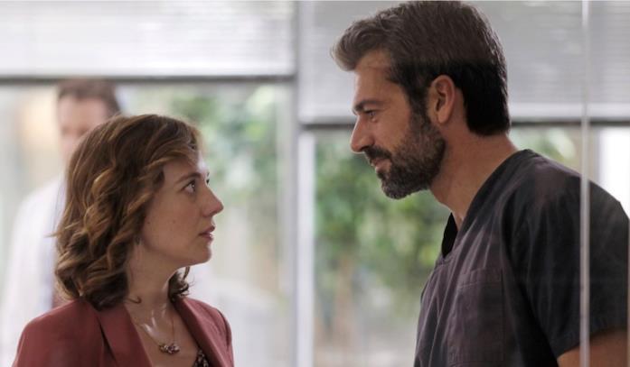 Silvia Lazzaro e Luca Argentero