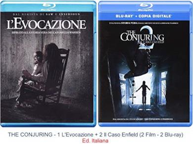 Cofanetti Blu-ray di The Conjuring - FIlm 1-2