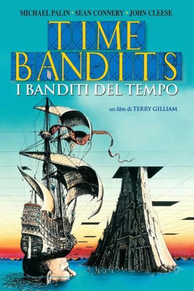 Poster I banditi del tempo