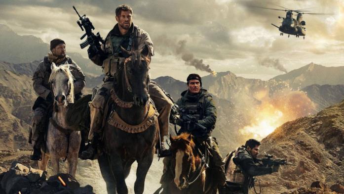 I protagonisti di 12 Soldiers a cavallo