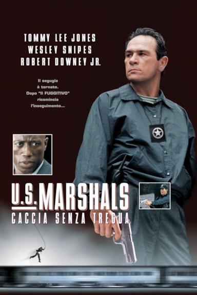 Poster U.S. Marshals - Caccia senza tregua