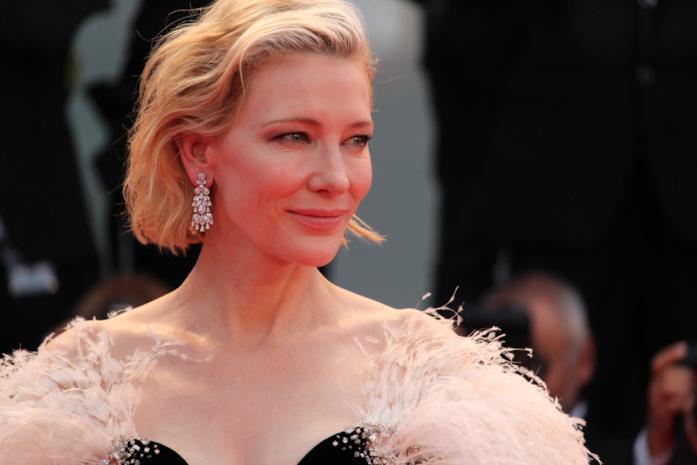 Cate Blanchett sul red carpet di Venezia 75