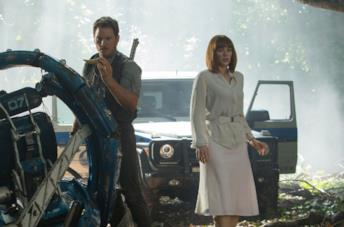 Owen e Claire da Jurassic World