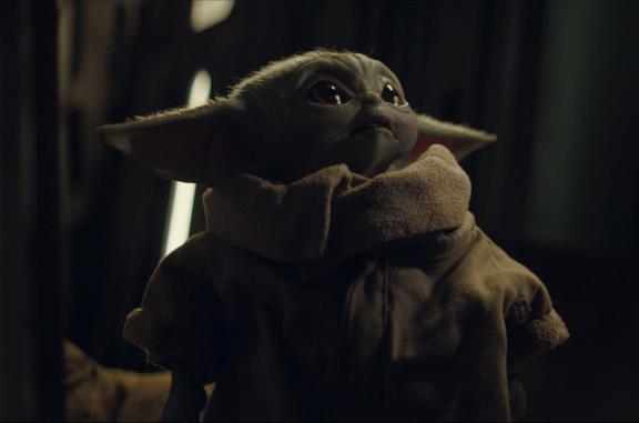 Baby Yoda nella serie TV
