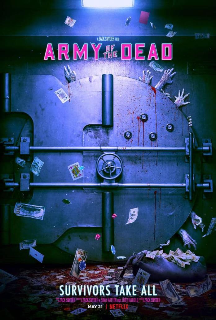 La locandina di Army of the Dead