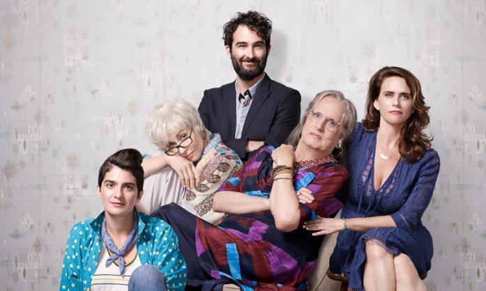 La famiglia Pfefferman al completo
