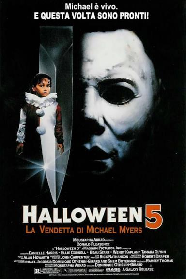 Poster Halloween 5 - La vendetta di Michael Myers