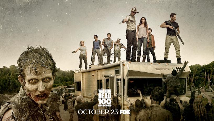 Poster episodio 100 di The Walking Dead: stagione 2