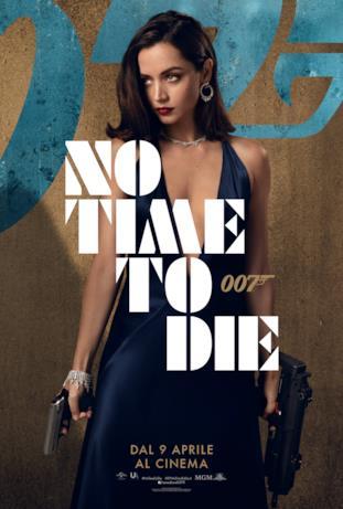 Ana de Armas - poster di No Time To Die