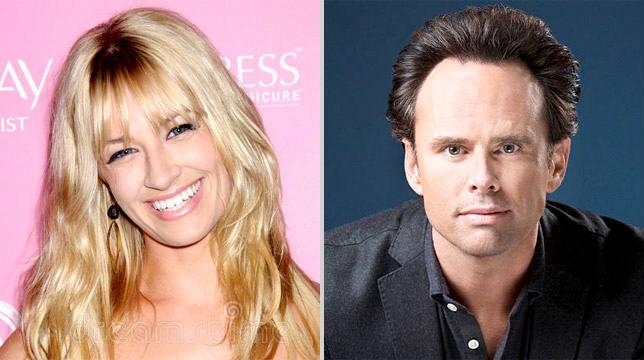 Beth Bers e Walton Goggins nel cast di The Big Bang Theory