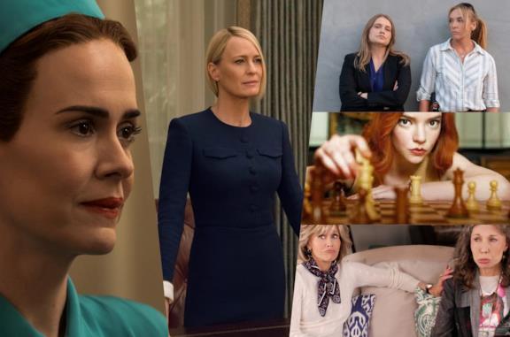 Alcune fra le donne delle produzioni Netflix Originali
