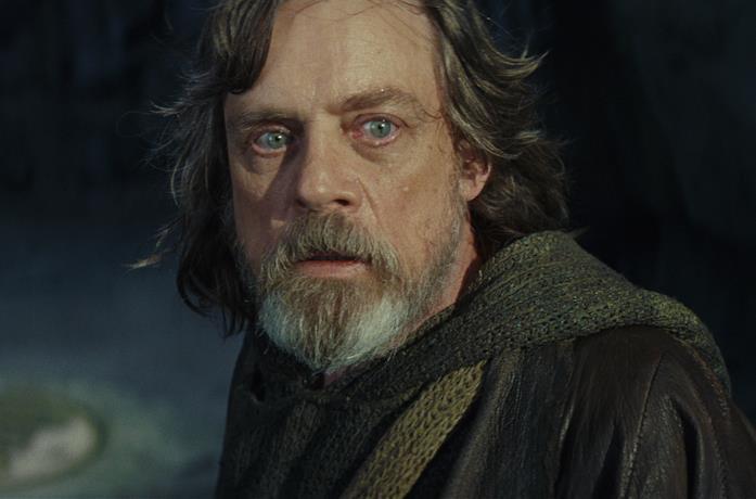 Luke in Star Wars: Gli Ultimi Jedi