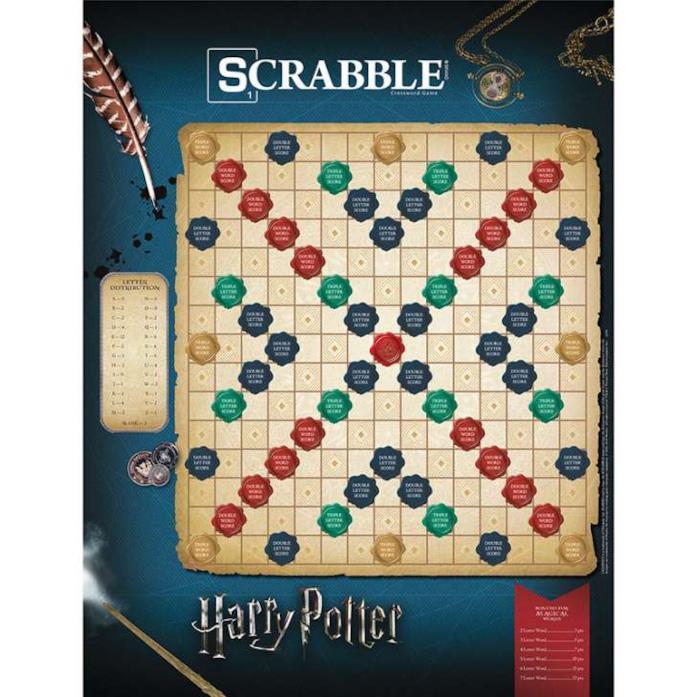 Scrabble per i babbani che vogliono formare parole di magie e pozioni