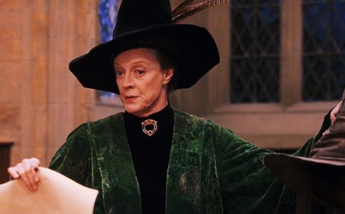 Minerva McGranitt in Harry Potter