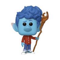 Funko- Pop Disney: Onward-Ian Lightfoot w/Staff Figurina, Multicolore, 45584