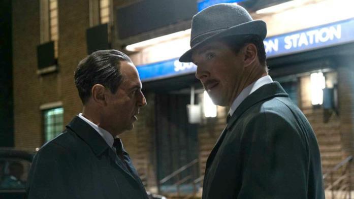 Merab Ninidze e Benedict Cumberbatch insieme ne L'ombra delle spie