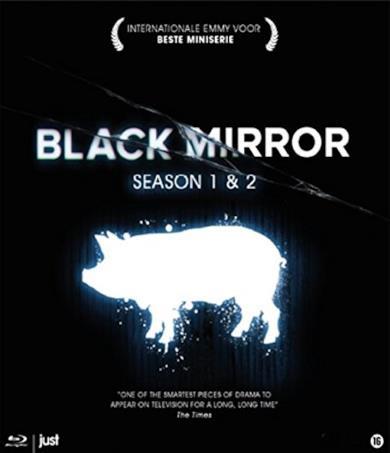 Cofanetto Blu-ray di Black Mirror - Seasons 1-2