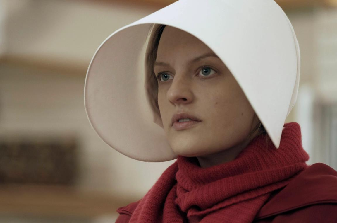 Elisabeh Moss in The Handmaid's Tale
