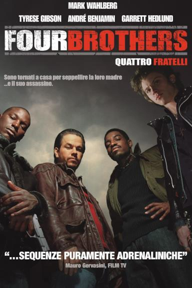 Poster Four Brothers - Quattro fratelli