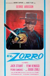 Poster El Zorro
