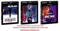 John Wick - La Trilogia 1-2-3 (3 Film Blu Ray) Edizione Italiana