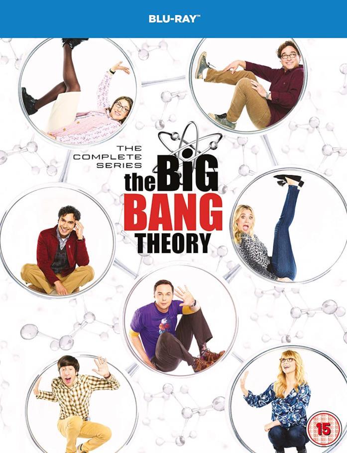 Il cast nella copertina del cofanetto Blu-ray di The Big Bang Theory