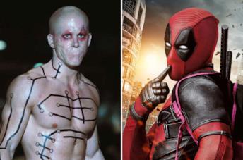 Le due versioni live-action di Deadpool