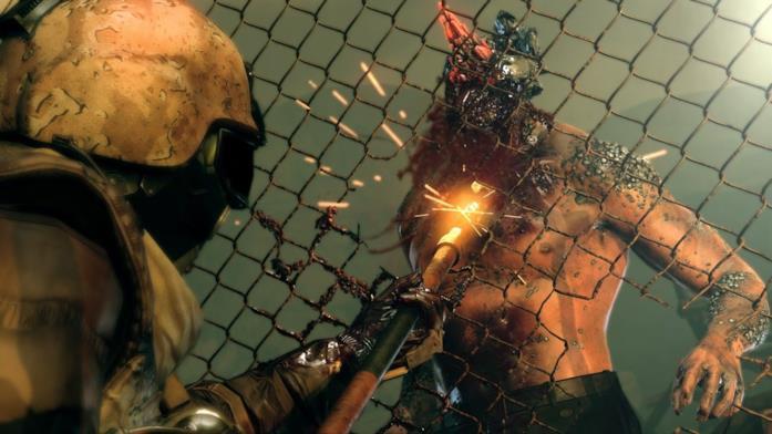 Lo scontro con un vagante in Metal Gear Survive