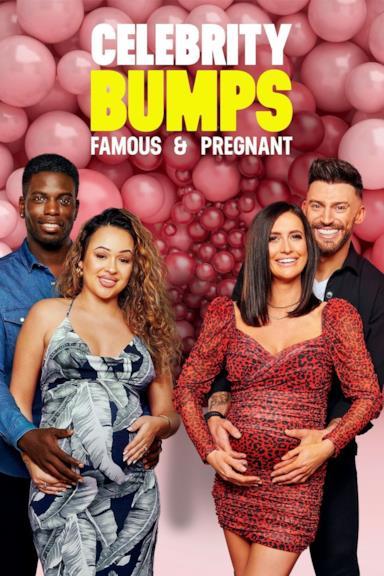 Poster Celebrity Bumps: Famous & Pregnant