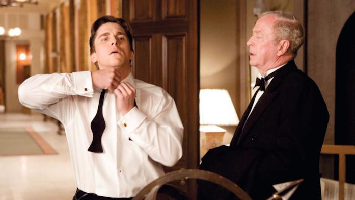 Bruce Wayne e Alfred il maggiordomo