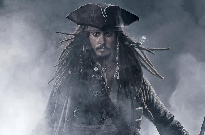Johnny Depp in Pirati dei Caraibi - Ai confini del mondo