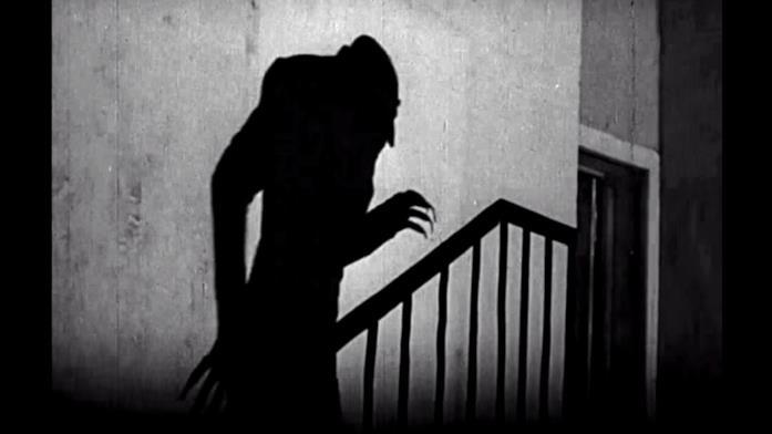Max Shreck interpreta il Conte Orlok