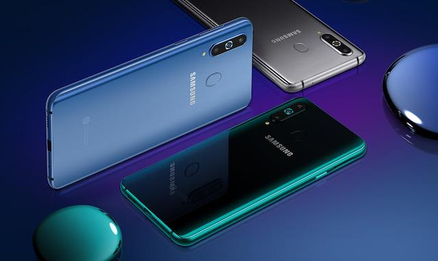 Immagine stampa del nuovo Samsung Galaxy A8s